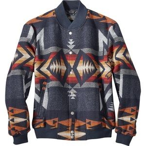 Pendleton gorge bomber jacket tribal native  $365